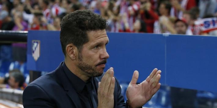 """Simeone is eerlijk: """"Chelsea is de verdiende winnaar"""""""