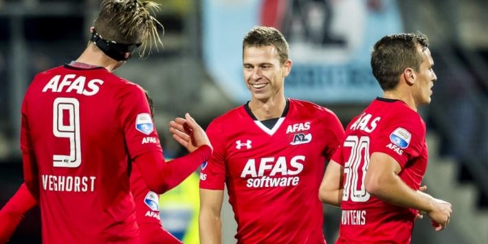 AZ, Vitesse en Heracles scharen zich bij laatste zestien