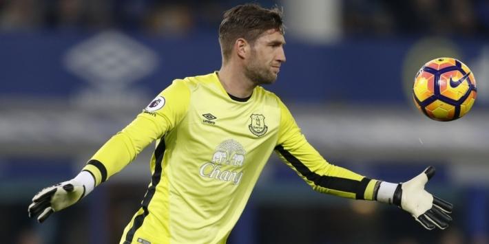 Stekelenburg lijkt concurrentiestrijd bij Everton te verliezen
