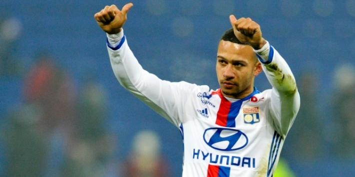 Depay met twee assists goud waard voor Olympique Lyon