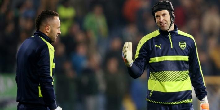 Niet Cech, maar Ospina verdedigt het Arsenal-doel