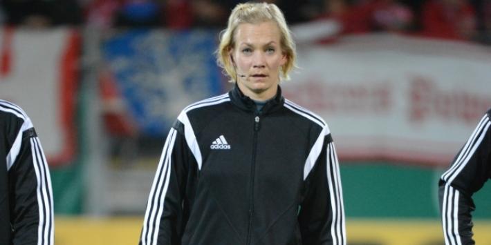 Vrouwelijke arbiter Steinhaus stopt na fluiten Duitse Supercup