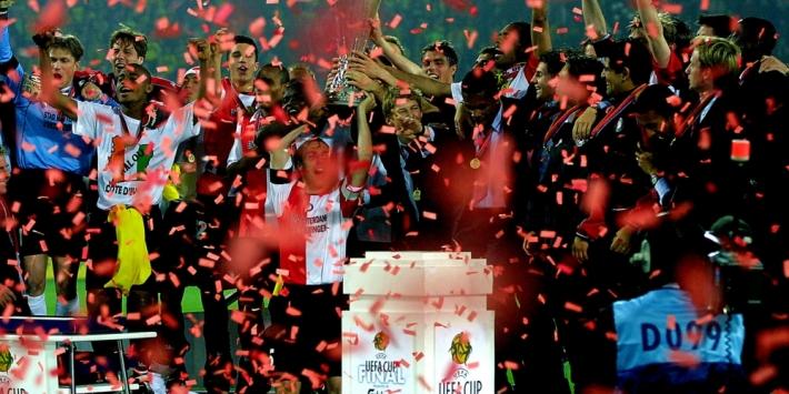 Terug naar 2002: toen Feyenoord de UEFA Cup won