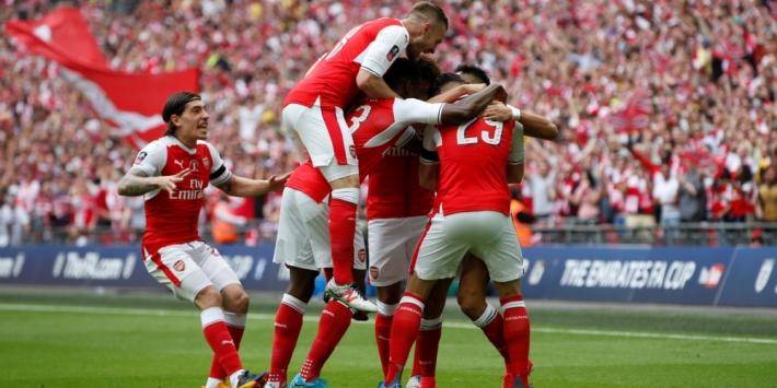 Arsenal houdt Chelsea van dubbel en wint dertiende FA Cup