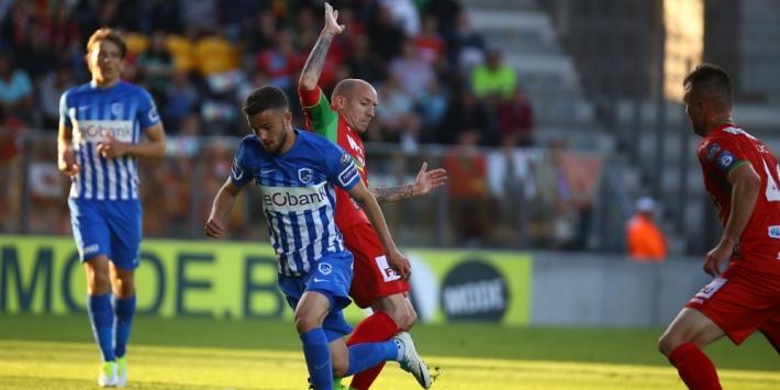 Stuivenberg en Genk grijpen naast Europees voetbal