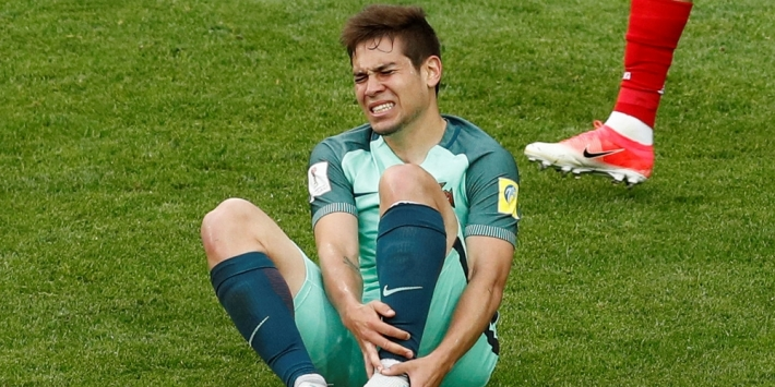 Portugal waarschijnlijk zonder Guerreiro tegen Chili