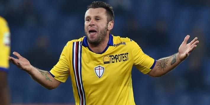 Cassano stopt definitief en gaat niet aan de slag in Serie C
