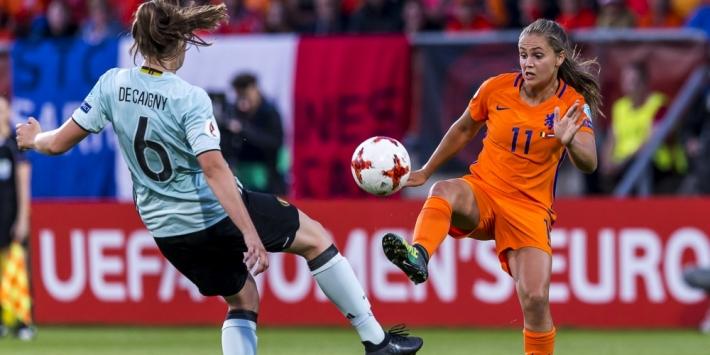 Oranje-dames vinden in België snel nieuwe opponent