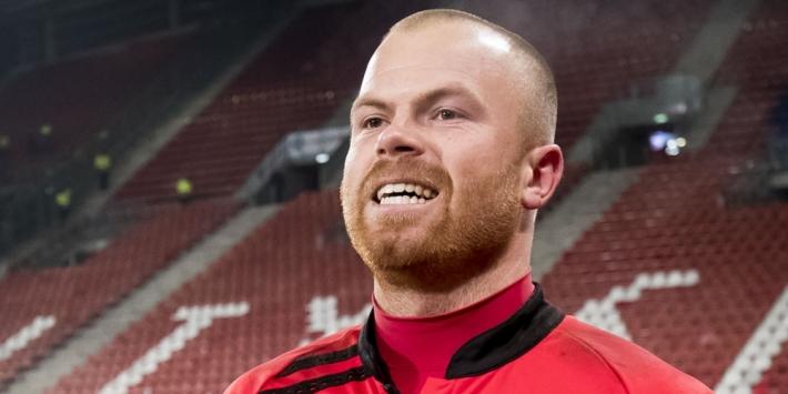 """Doelman Nienhuis (28) stopt: """"Ik voetbal nu lekker in het dorp"""""""