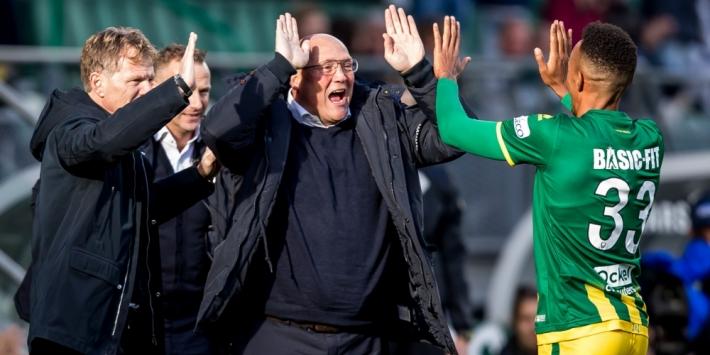 Groenendijk hoopt halverwege Eredivisie in linkerrijtje te staan