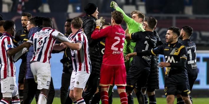 """Opstootje bij Willem II - NAC: """"Speler van ons werd aangevallen"""""""