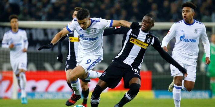 Schalke en Gladbach schieten weinig op met gelijkspel