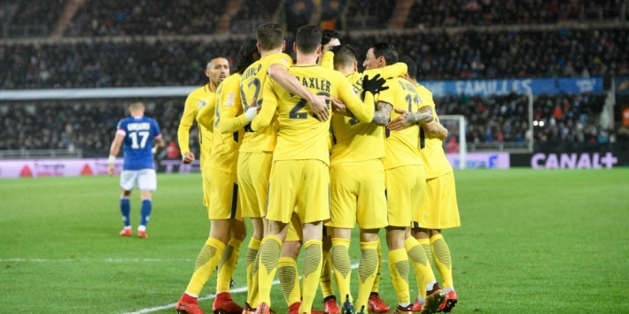 PSG verder in League Cup, Lyon uitgeschakeld