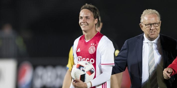 Gevallen Ajax-talent uit selectie Spakenburg gezet