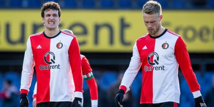 Feyenoord baalt van vervroegde aanvangstijd lunchwedstrijden