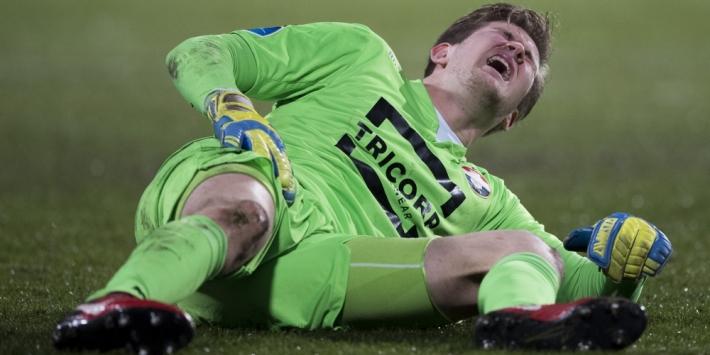 Slechts nieuws voor Willem II: einde seizoen voor Branderhorst