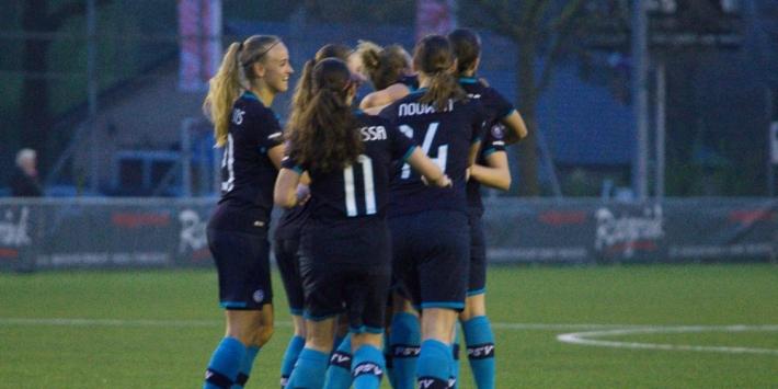 Vrouwen FC Twente beginnen play-offs met zege op PSV