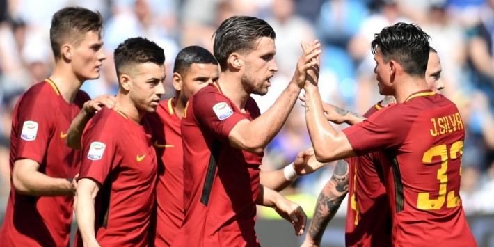 Roma kent goede generale voor CL-duel met zege op SPAL
