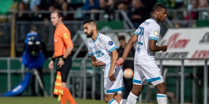 Turkse clubs willen Behich en PSV van elkaar verlossen
