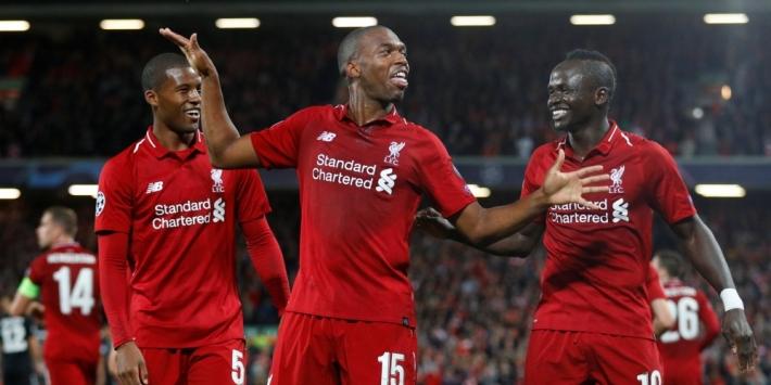 Groep C: Liverpool in slotseconde langs PSG, Napoli morst
