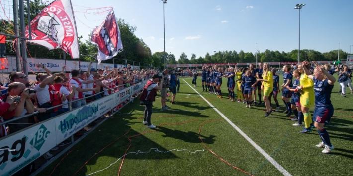 Ajax Vrouwen naar laatste zestien in Champions League