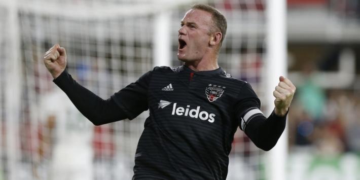 Eerste hattrick Rooney (33) leidt DC United naar royale zege