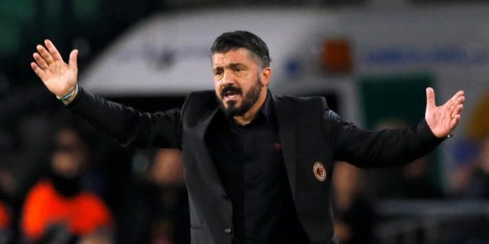 Groep D: AC Milan zakt naar derde plek, zege Olympiakos