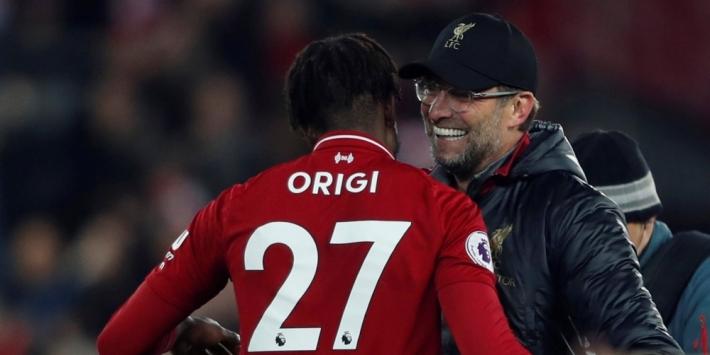 Liverpool houdt CL-held Origi langer aan boord