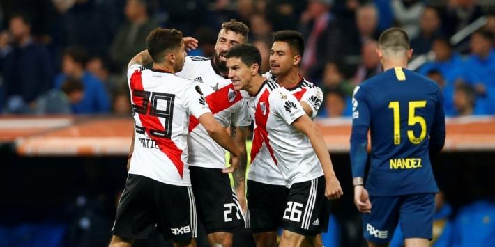 River Plate rekent af met Boca Juniors en bereikt opnieuw finale