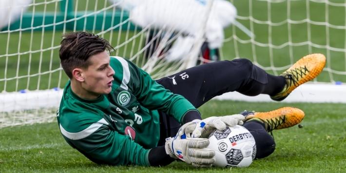 Talentvolle keeper Hoekstra van FC Groningen naar Roda JC
