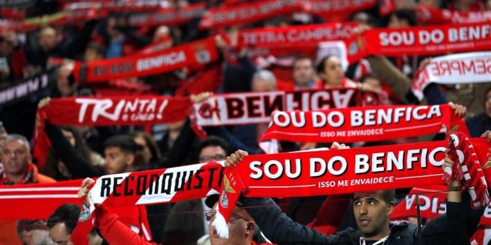 Benfica simpel verder in beker door dubbelslag Pizzi en Vinícius