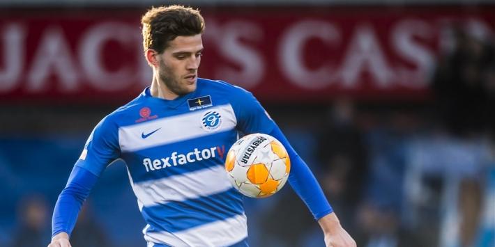 """Vet weg bij De Graafschap: """"Het liefst ga ik naar de Eredivisie"""""""