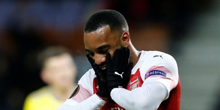 Arsenal geeft niet thuis en verslikt zich bij BATE Borisov
