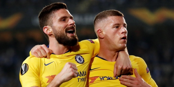 Giroud voorkomt met verlenging transfervrij vertrek bij Chelsea