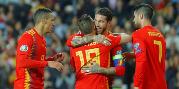 Gisteren gemist: winst Spanje en Italië, géén Brazilië-debuut Neres