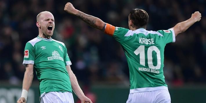 Eindelijk weer succes Bosz, Klaassen scoort voor Werder Bremen