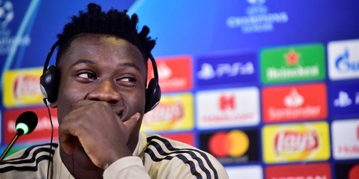 """'Dankbare' Onana ontkent voorcontract: """"Eerst met Ajax om tafel"""""""