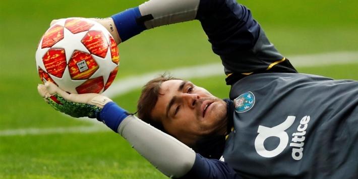Casillas begint twee maanden na hartaanval aan voorbereiding