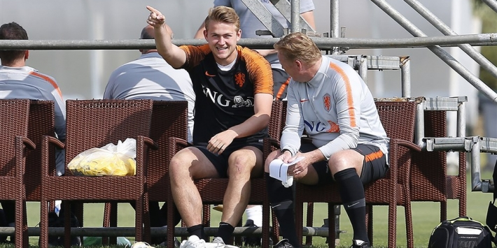 """Koeman adviseert De Ligt: """"Zorg dat je aan spelen toekomt"""""""
