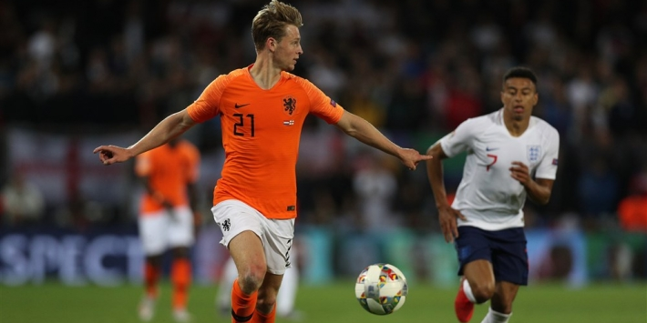 """Janssen: """"Frenkie komend seizoen een van de bepalende spelers"""""""