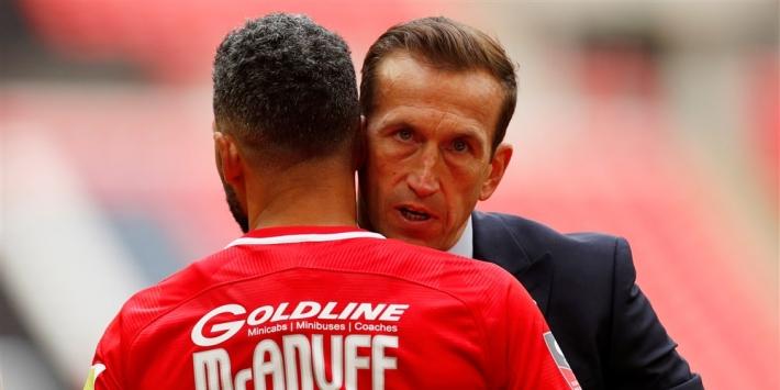Leyton Orient-manager Edinburgh op 49-jarige leeftijd overleden
