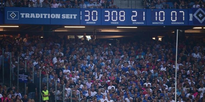 Hamburger SV gaat de wereldberoemde stadionklok afbreken
