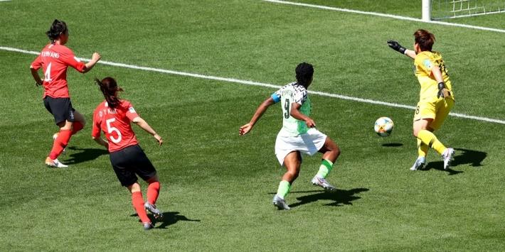 Zuid-Korea is na stunt Nigeria bijna klaar op WK