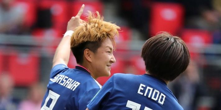 Japan herstelt zich met zege op Schotland van valse start op WK