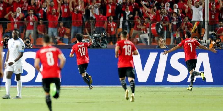 Gastland Egypte bereikt achtste finales Afrika Cup