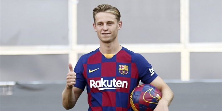"""Xavi looft De Jong: """"Ik vind het een fantastische transfer"""""""