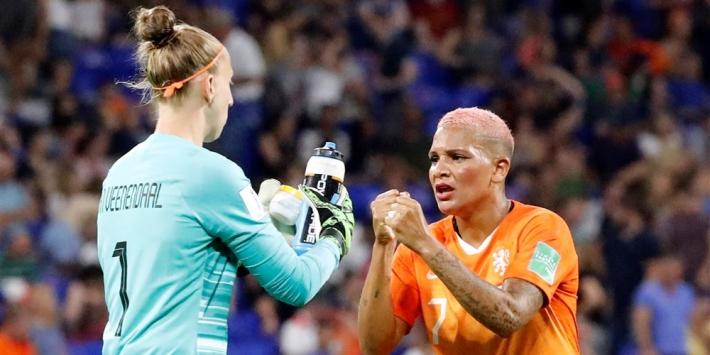 Oranjevrouwen tegen Turkije met Van de Sanden en Van der Gragt
