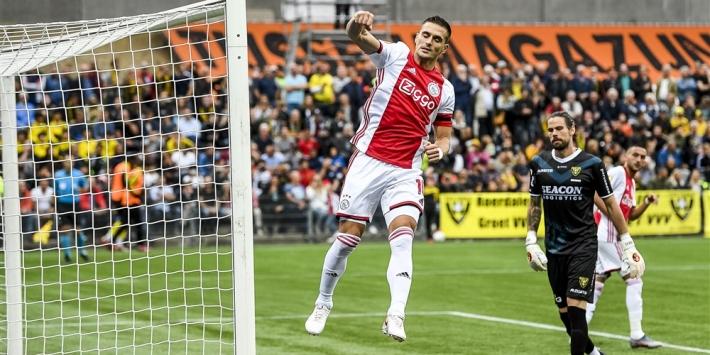 Ajax maakt tussen CL-duels in geen fout en wint simpel van VVV