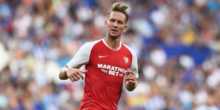 De Jong onzichtbaar bij nederlaag van Sevilla tegen Villarreal