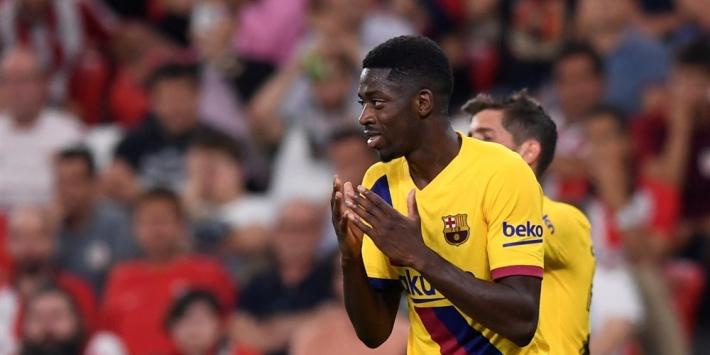 Dembélé kan Barça niet helpen in La Liga, mogelijk wel in CL